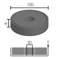 キャップ磁石 24RY (ネオジム磁石使用)