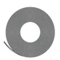 ラバーマグネット 異方性 1.5tx25x30m