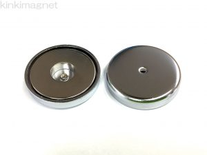 キャップ磁石 44RN M4タップ (ネオジム磁石使用)