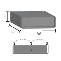 キャップ磁石 45LN (ネオジム磁石使用)